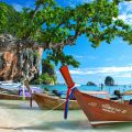Petite plage de Thaïlande